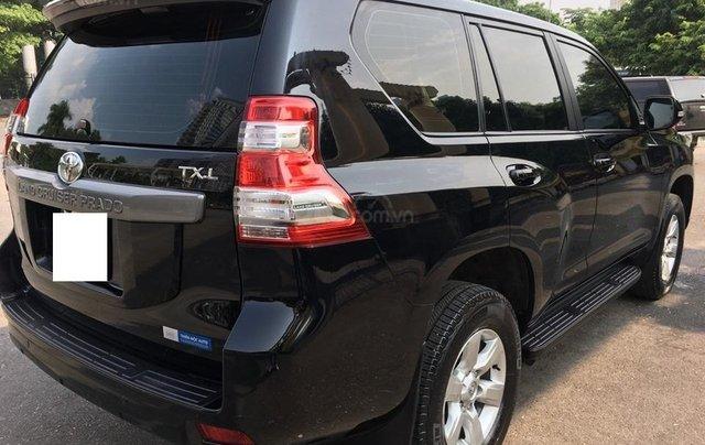 Toyota Land Cruiser Prado TXL 2.7L màu đen, sản xuất 2014, biển Hà Nội2