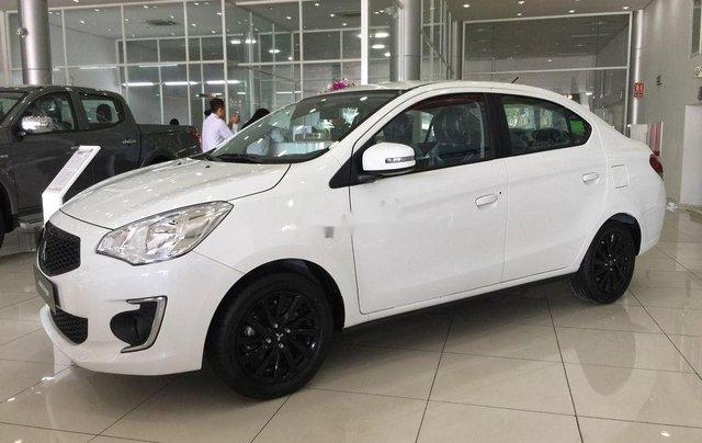 Bán Mitsubishi Attrage đời 2019, màu trắng, xe nhập0
