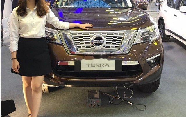Cần bán Nissan Terra năm sản xuất 2019, màu nâu, nhập khẩu Thái Lan0