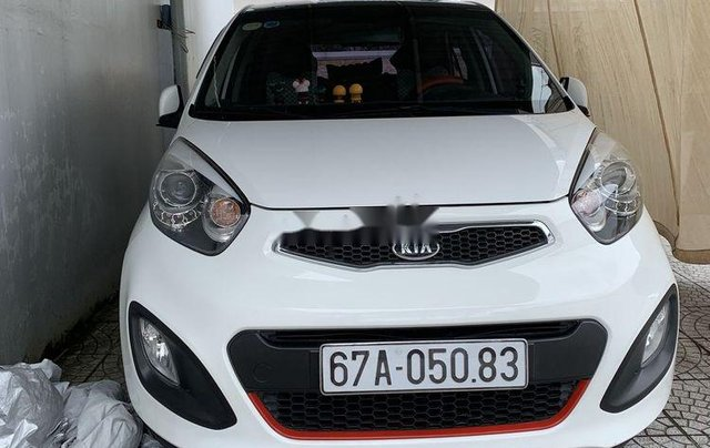Bán Kia Morning năm 2011, màu trắng, nhập khẩu  0