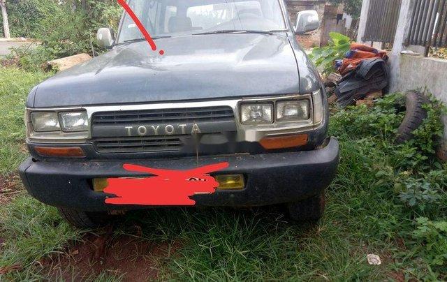 Bán Toyota Land Cruiser 1987, màu xám, nhập khẩu 4
