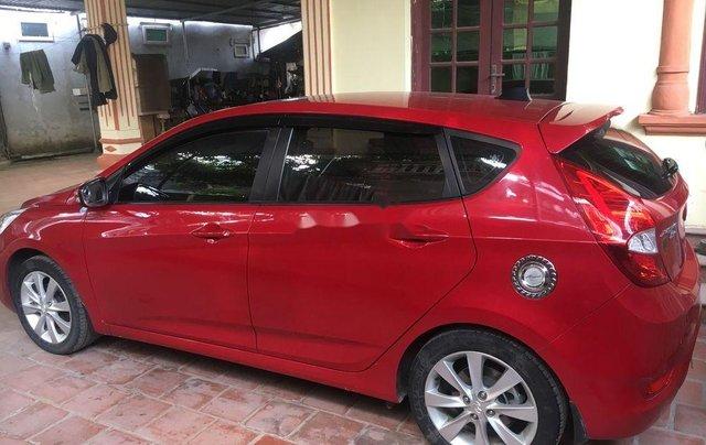 Gia đình bán Hyundai Accent 2015, màu đỏ, nhập khẩu 0