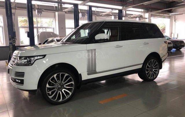 Bán LandRover Range Rover Autobyo 2016, màu trắng, nhập khẩu0