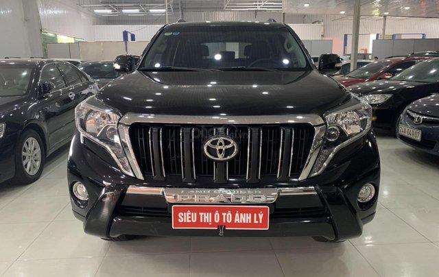 Bán Toyota Land Cruiser Prado 2.7AT đời 2015, màu đen, xe nhập0