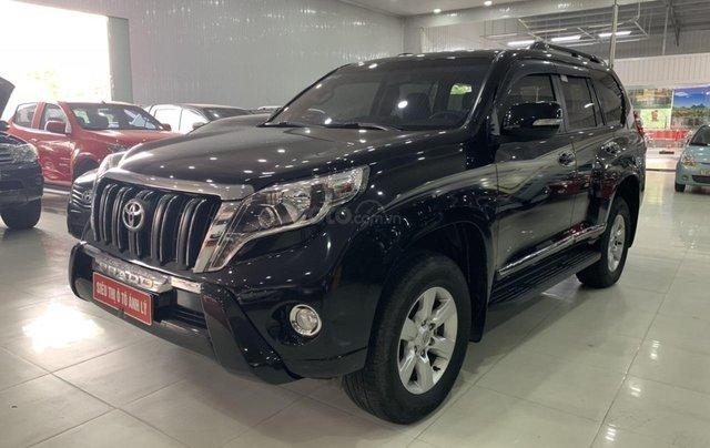 Bán Toyota Land Cruiser Prado 2.7AT đời 2015, màu đen, xe nhập2