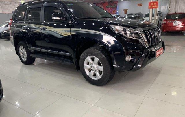 Bán Toyota Land Cruiser Prado 2.7AT đời 2015, màu đen, xe nhập3