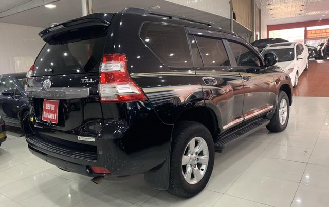Bán Toyota Land Cruiser Prado 2.7AT đời 2015, màu đen, xe nhập4