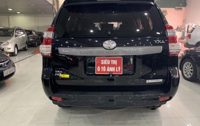 Bán Toyota Land Cruiser Prado 2.7AT đời 2015, màu đen, xe nhập10