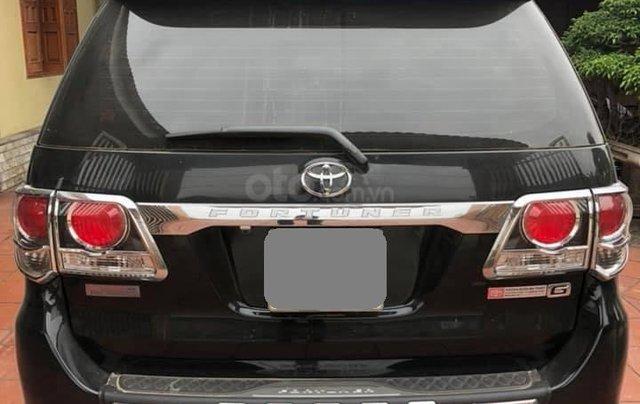 Bán Toyota Fortuner 2016 màu đen2