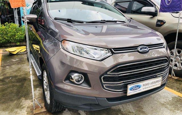 Bán xe Ford EcoSport năm 2016, màu nâu, xe gia đình, giá 519 triệu đồng0