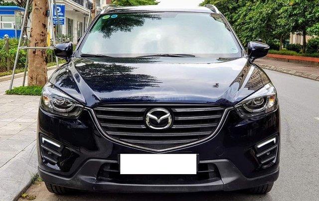 Bán Mazda CX5 2017 số tự động, bản 2.0, màu xanh Cavansite0