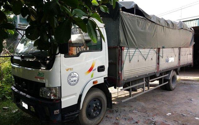 Cần bán xe tải Veam thùng bạt 5 tấn, động cơ Huyndai, thùng dài 6m0