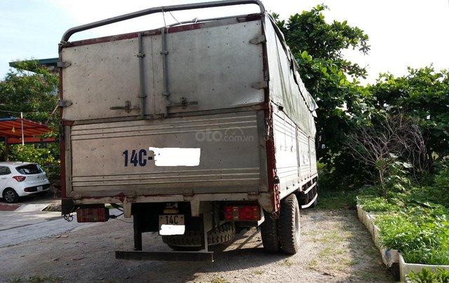 Cần bán xe tải Veam thùng bạt 5 tấn, động cơ Huyndai, thùng dài 6m5