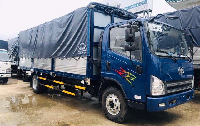 Bán gấp xe tải FAW 7T3 ga cơ máy Hyundai, thùng dài 6m3, chỉ 120tr có xe ngay0