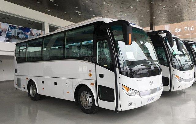 Bán xe khách 6 bầu hơi DHB8S2 năm 2018, màu trắng, nhập khẩu 3 cục tặng TV0