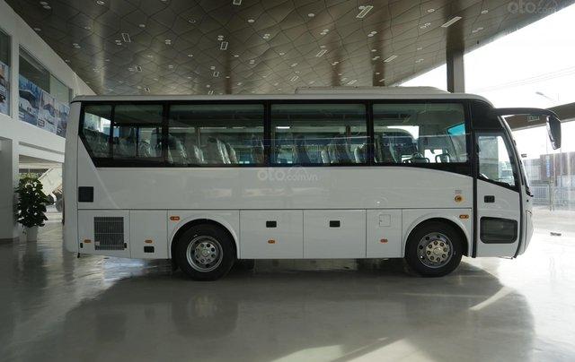 Bán xe khách 6 bầu hơi DHB8S2 năm 2018, màu trắng, nhập khẩu 3 cục tặng TV1