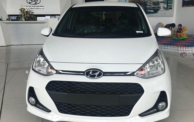 Bán Hyundai Grand i10 1.2AT, 2019, màu trắng, giao ngay- đủ màu0