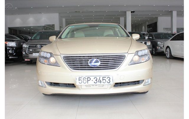 HCM: Lexus LS 600HL 5.0 AT 2010, màu vàng, xe nhập0