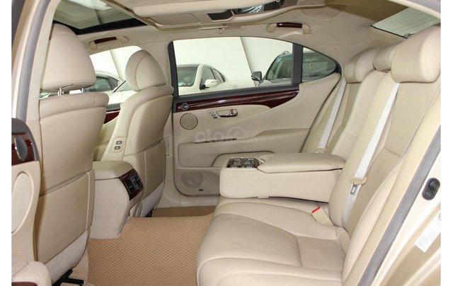 HCM: Lexus LS 600HL 5.0 AT 2010, màu vàng, xe nhập13