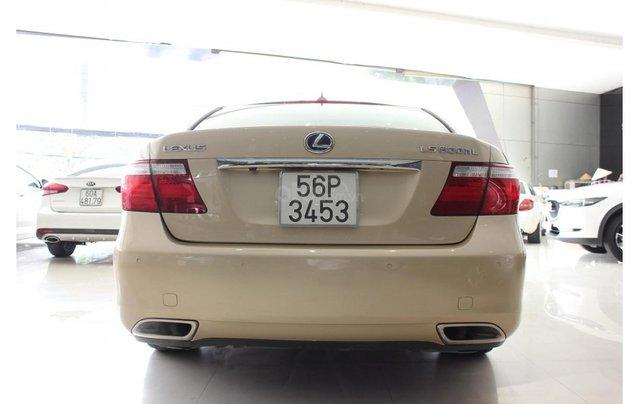 HCM: Lexus LS 600HL 5.0 AT 2010, màu vàng, xe nhập4