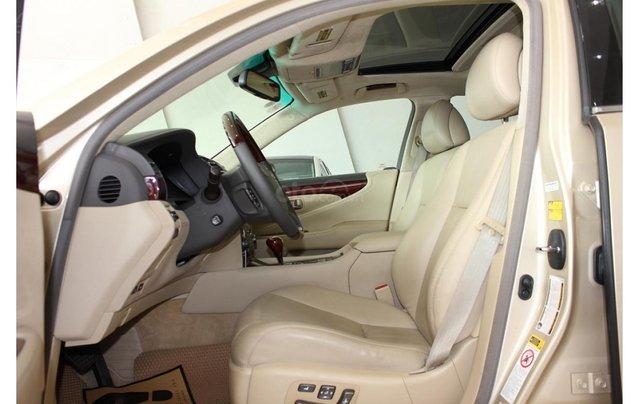 HCM: Lexus LS 600HL 5.0 AT 2010, màu vàng, xe nhập6