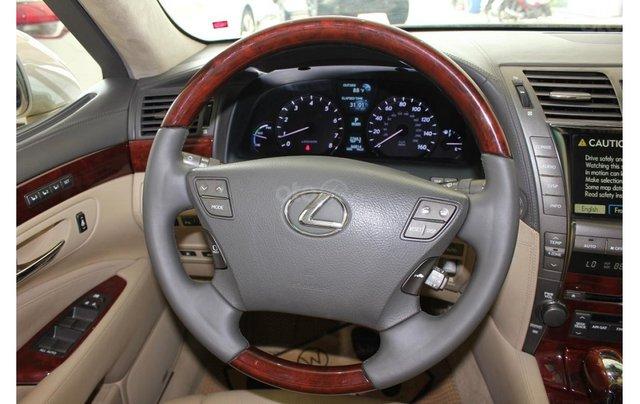 HCM: Lexus LS 600HL 5.0 AT 2010, màu vàng, xe nhập9