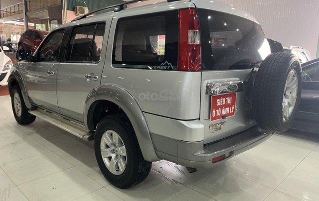 Cần bán Ford Everest 2.5MT đời 2008, màu bạc, 355tr2
