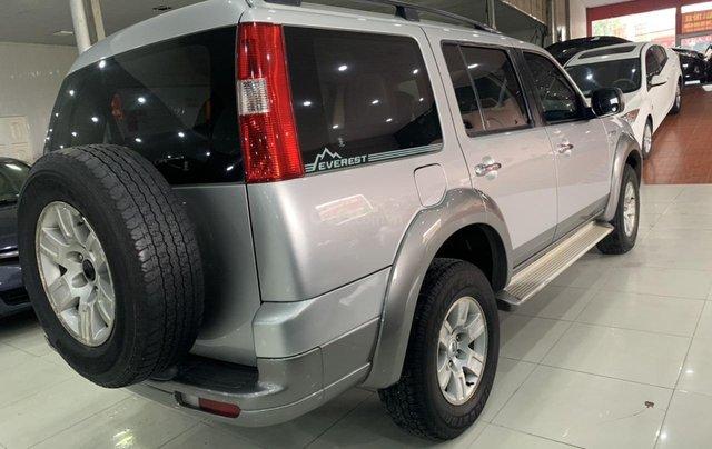 Cần bán Ford Everest 2.5MT đời 2008, màu bạc, 355tr3
