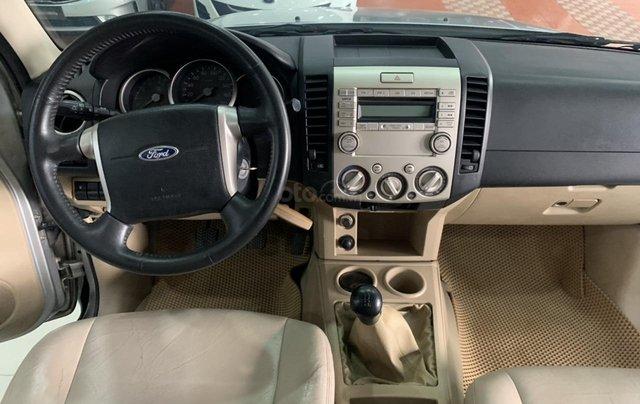 Cần bán Ford Everest 2.5MT đời 2008, màu bạc, 355tr8