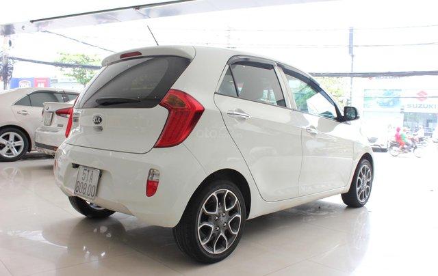 Bán Kia Morning 1.25 5 chỗ, số tự động sản xuất 2014, màu trắng, giá tốt4