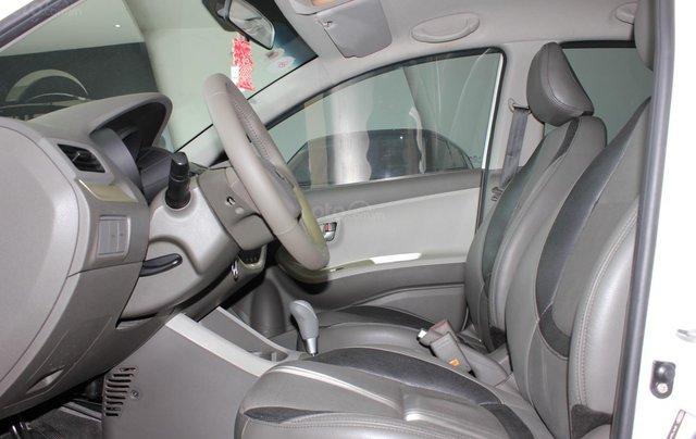Bán Kia Morning 1.25 5 chỗ, số tự động sản xuất 2014, màu trắng, giá tốt9