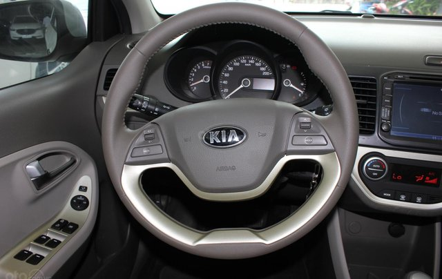 Bán Kia Morning 1.25 5 chỗ, số tự động sản xuất 2014, màu trắng, giá tốt12