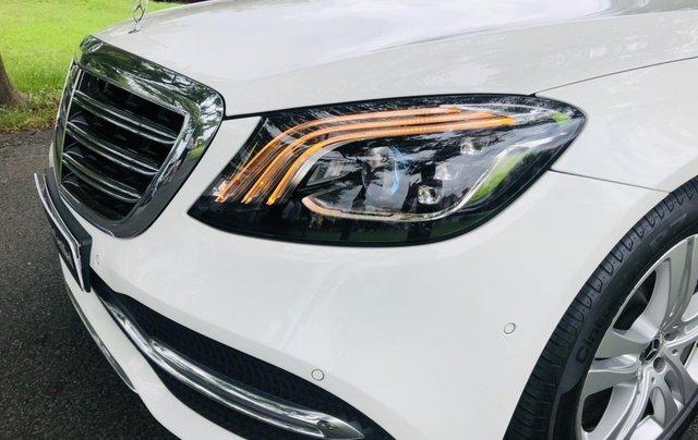 Thanh lý S450L 2018 màu trắng siêu lướt 3.800km xe chở chủ tịch Mercedes3