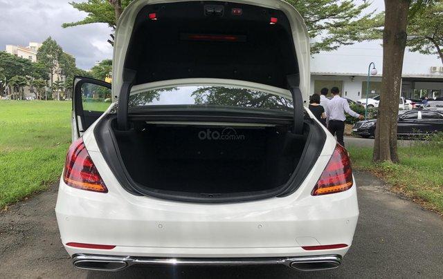 Thanh lý S450L 2018 màu trắng siêu lướt 3.800km xe chở chủ tịch Mercedes5