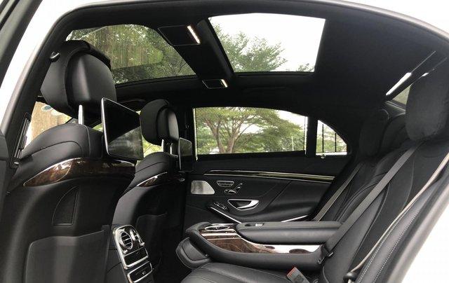 Thanh lý S450L 2018 màu trắng siêu lướt 3.800km xe chở chủ tịch Mercedes6