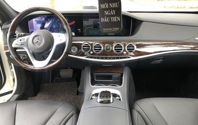 Thanh lý S450L 2018 màu trắng siêu lướt 3.800km xe chở chủ tịch Mercedes8