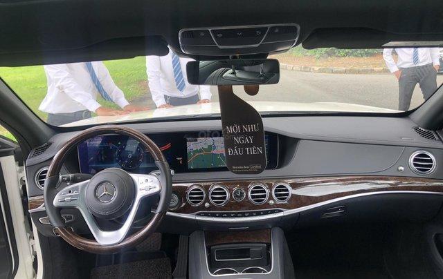 Thanh lý S450L 2018 màu trắng siêu lướt 3.800km xe chở chủ tịch Mercedes9
