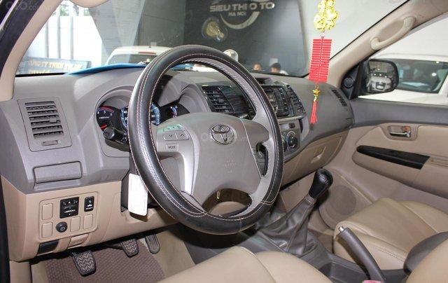 Cần bán xe Toyota Fortuner 2.5G MT sx 2012, màu đen, ghế da, biển SG, giá TL5