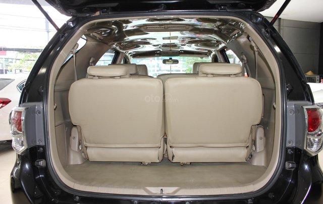 Cần bán xe Toyota Fortuner 2.5G MT sx 2012, màu đen, ghế da, biển SG, giá TL7