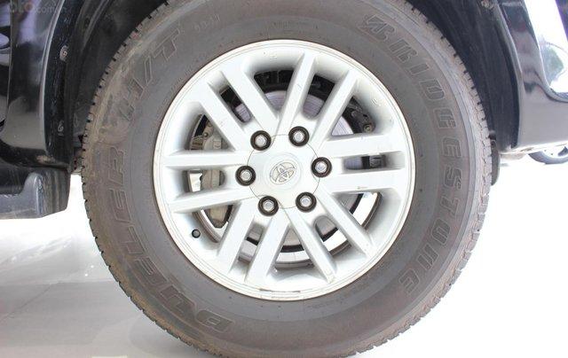 Cần bán xe Toyota Fortuner 2.5G MT sx 2012, màu đen, ghế da, biển SG, giá TL8