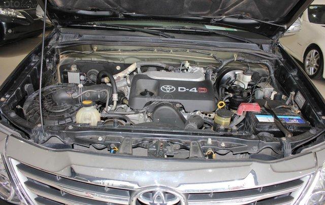 Cần bán xe Toyota Fortuner 2.5G MT sx 2012, màu đen, ghế da, biển SG, giá TL9