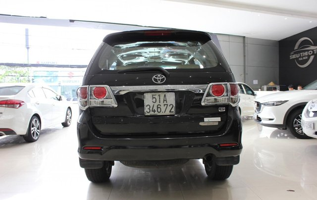 Cần bán xe Toyota Fortuner 2.5G MT sx 2012, màu đen, ghế da, biển SG, giá TL13