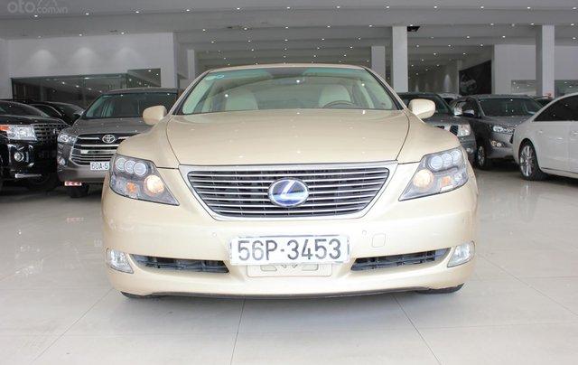 Cần bán xe Lexus LS 600HL 5.0 xăng điện 2008, màu vàng, nhập khẩu1