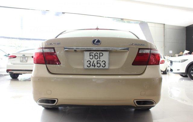 Cần bán xe Lexus LS 600HL 5.0 xăng điện 2008, màu vàng, nhập khẩu4
