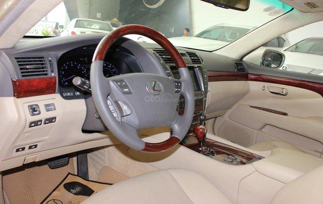 Cần bán xe Lexus LS 600HL 5.0 xăng điện 2008, màu vàng, nhập khẩu6