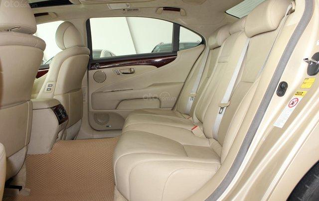 Cần bán xe Lexus LS 600HL 5.0 xăng điện 2008, màu vàng, nhập khẩu9