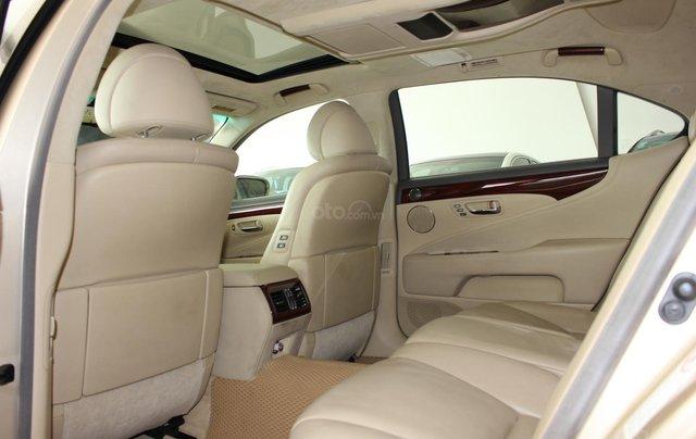Cần bán xe Lexus LS 600HL 5.0 xăng điện 2008, màu vàng, nhập khẩu10