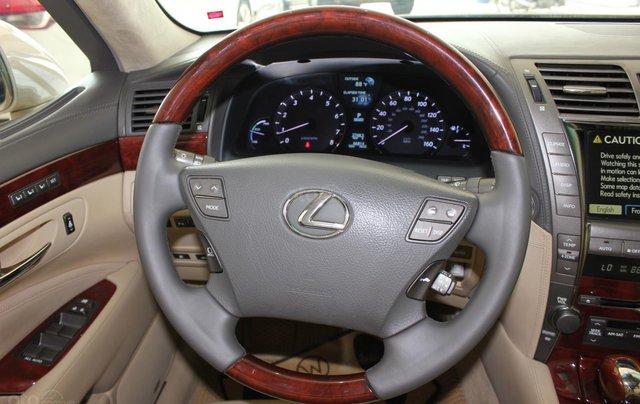 Cần bán xe Lexus LS 600HL 5.0 xăng điện 2008, màu vàng, nhập khẩu11
