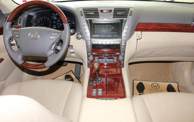 Cần bán xe Lexus LS 600HL 5.0 xăng điện 2008, màu vàng, nhập khẩu12