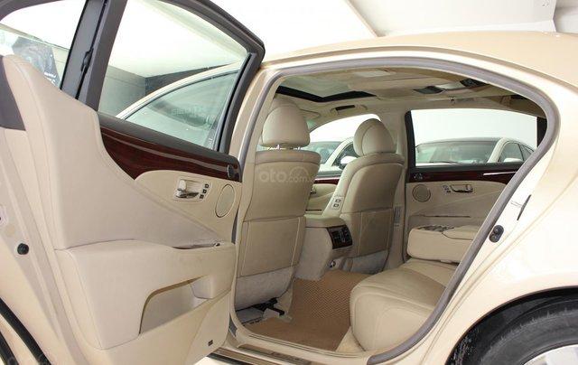 Cần bán xe Lexus LS 600HL 5.0 xăng điện 2008, màu vàng, nhập khẩu13